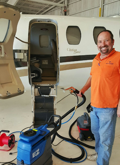 Aircraft Carpet Cleaning Services